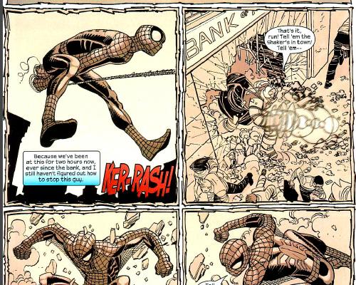 Spider-Man science