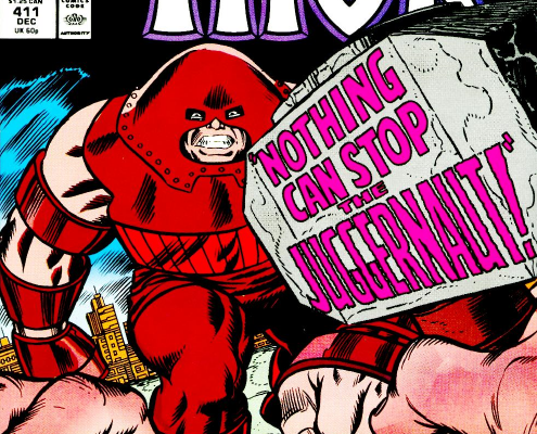 The Mighty Thor vs. The Juggernaut