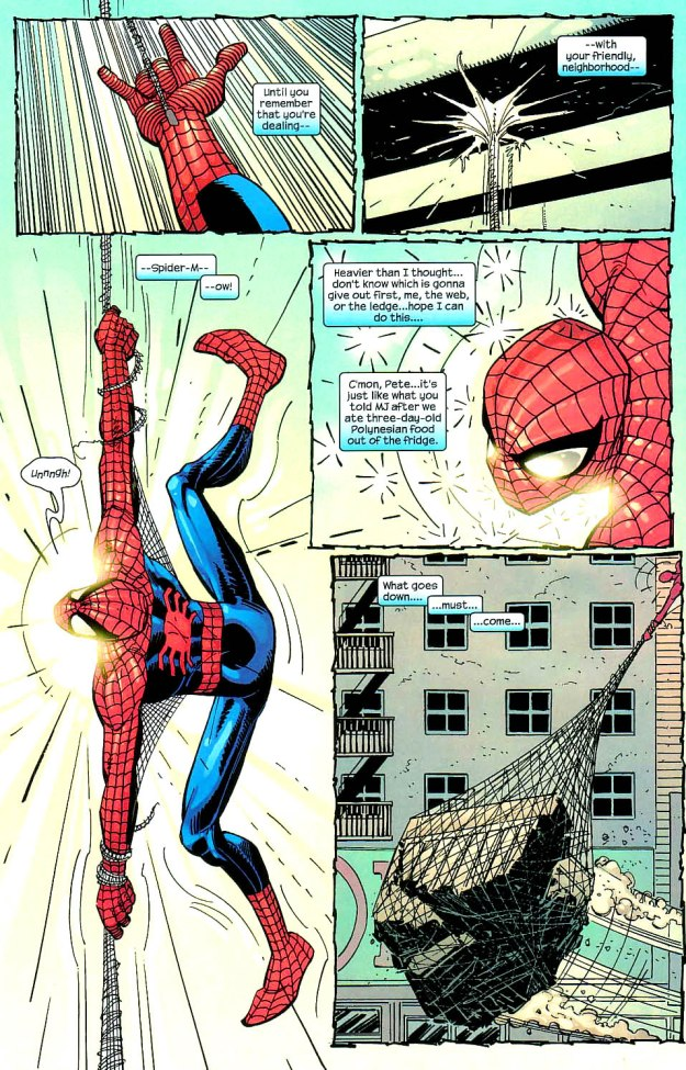 Amazing Spider-Man uses science