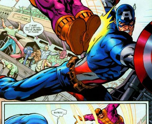 captain america batroc the leaper