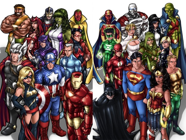 Marvel-v-DC
