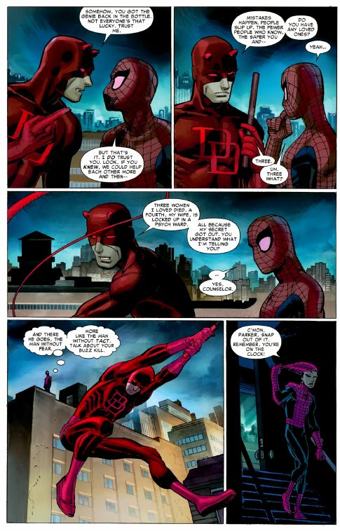 Spider-Man Daredevil