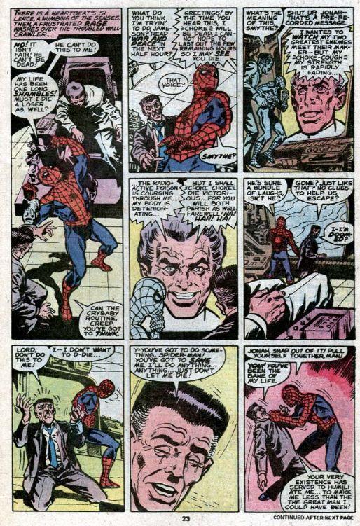 amazing spider-man science