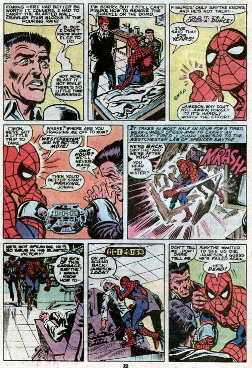 amazing spider-man science