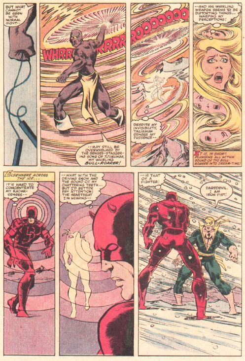 Daredevil vs. Iron Fist