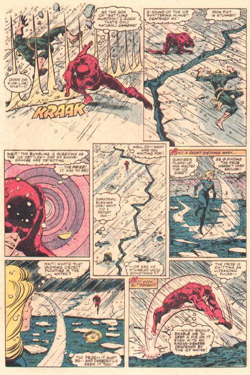 Daredevil vs. Iron Fist