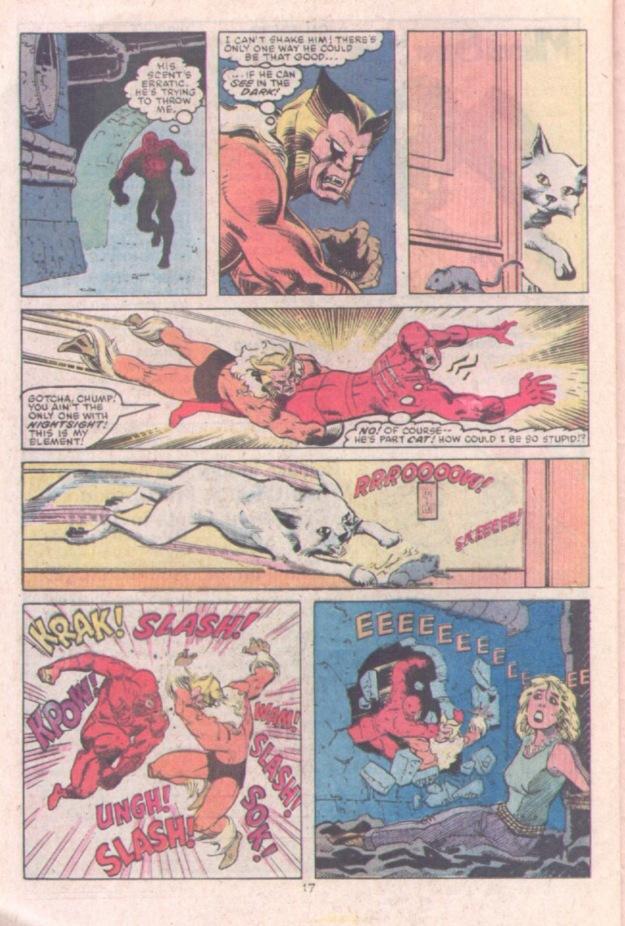 Daredevil vs. Sabertooth