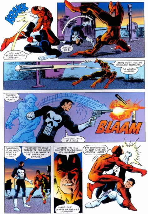 Daredevil vs. The Punisher