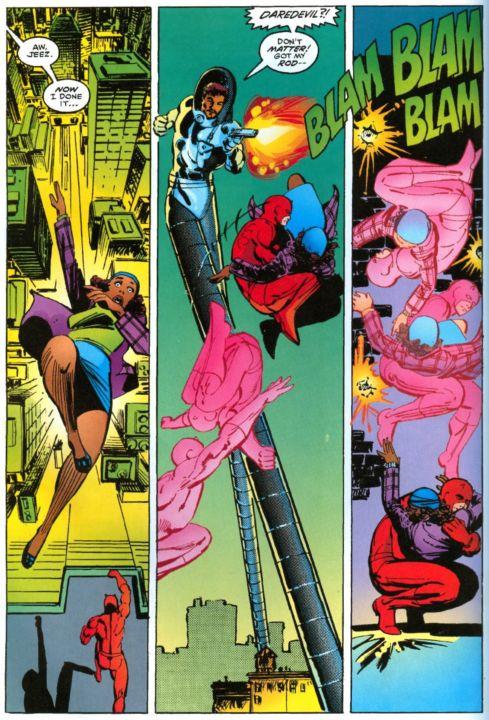 Daredevil vs. Stilt-Man