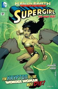 Supergirl vs. Wonder Woman