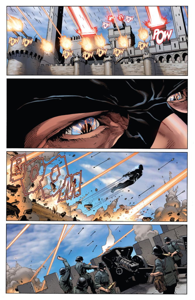 black bolt flying