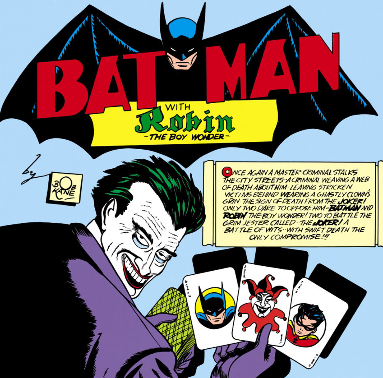 first appearance of the joker