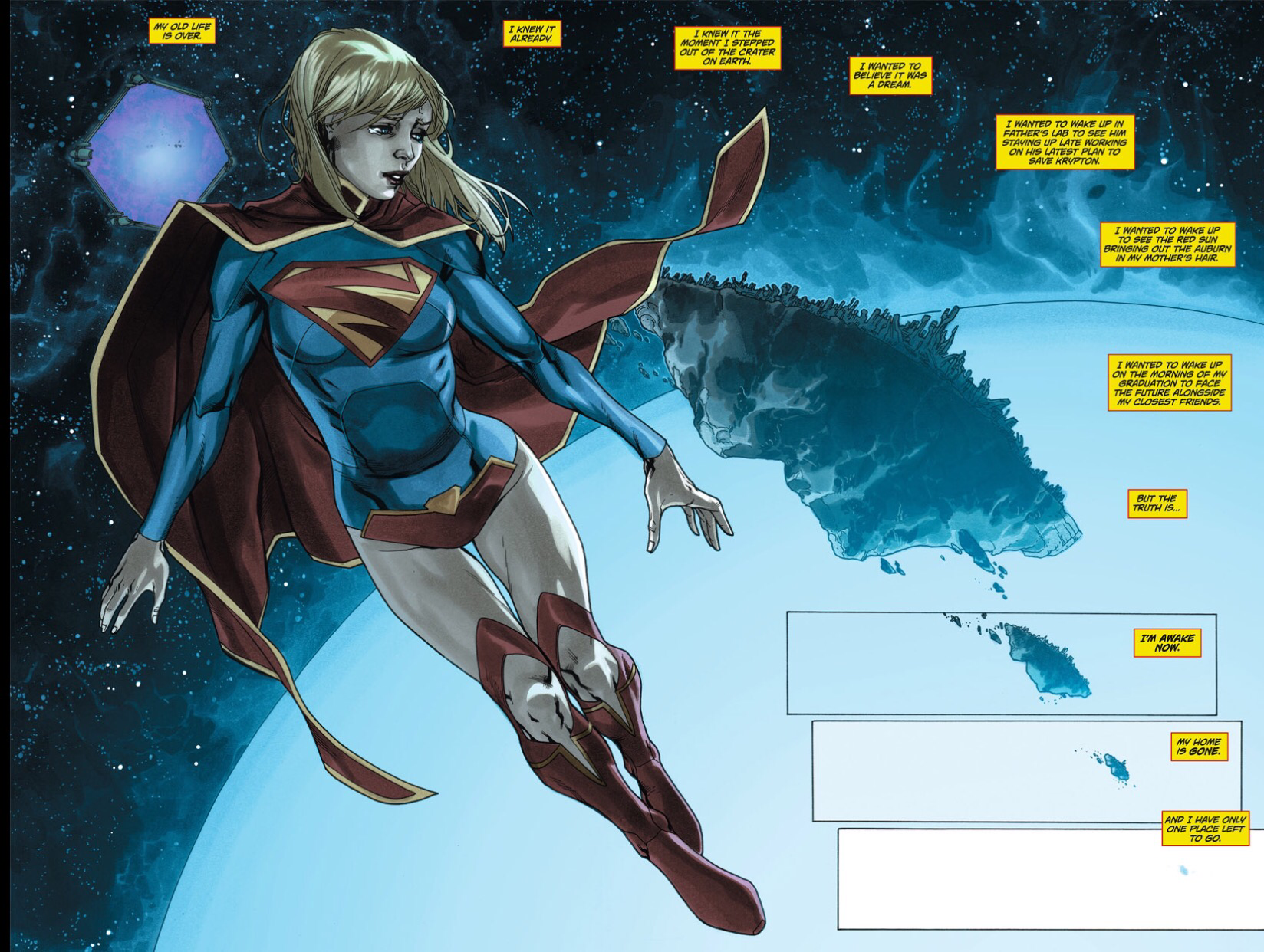Supergirl Argo City