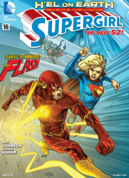 Supergirl vs. The Flash