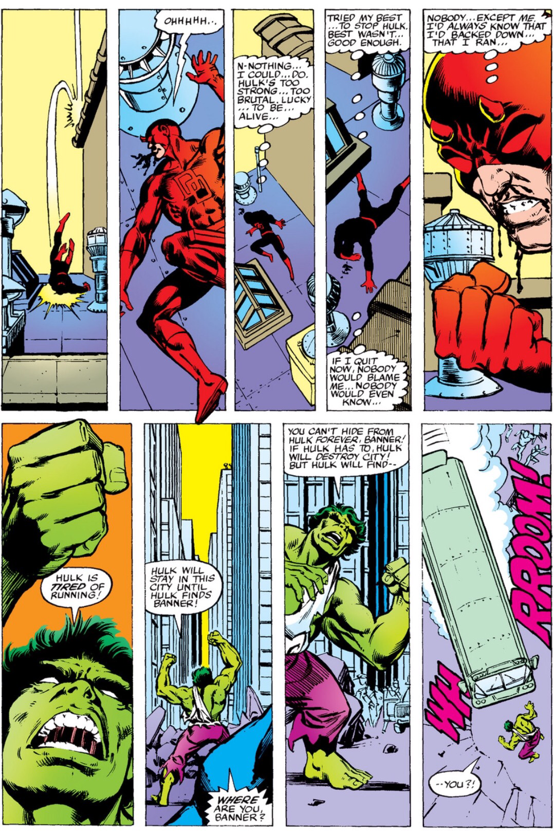 Hulk vs. Daredevil