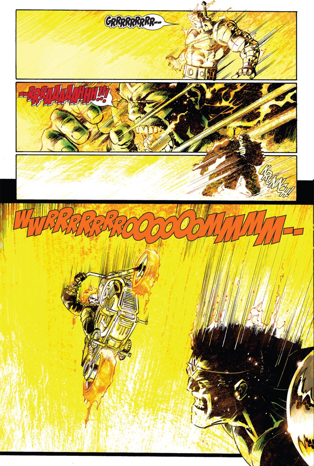 Hulk vs. Ghost Rider