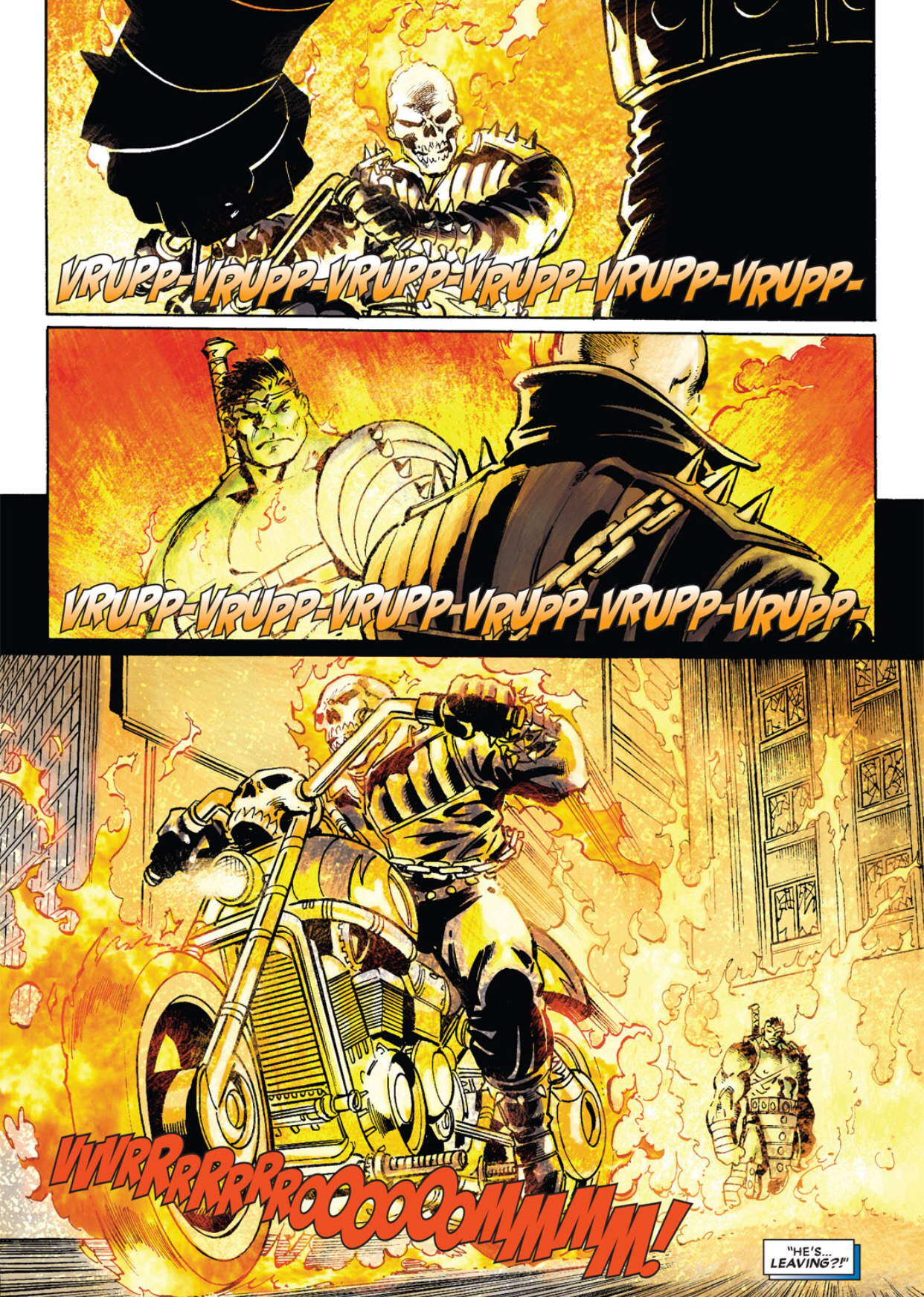 Hulk vs. Ghost Rider