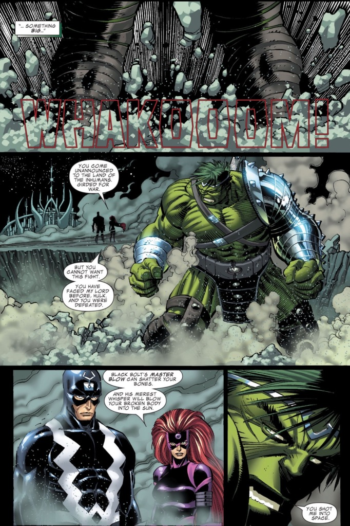 Hulk vs. Black Bolt