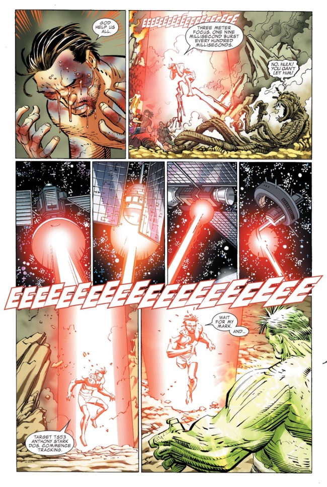 Tony ends Hulks rampage