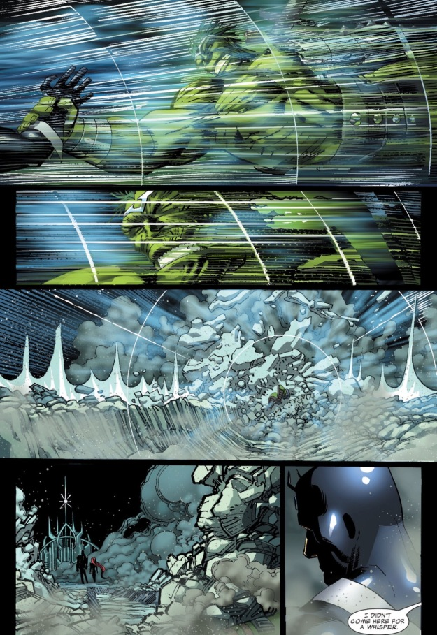 Hulk vs. Black Bolt