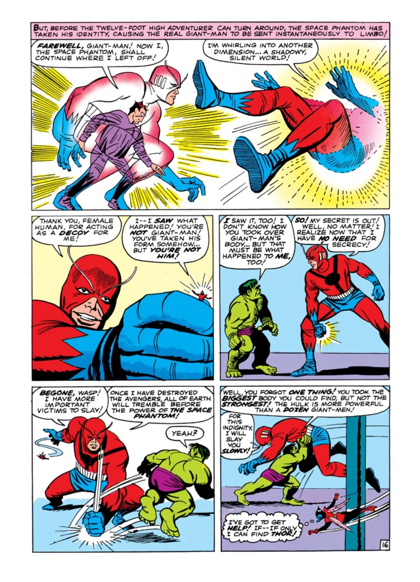 avengers vs. the space phantom