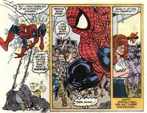 spider-man uses science