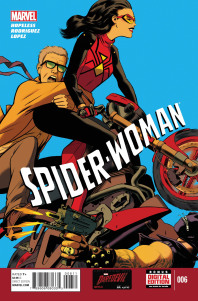 Spider-Woman #6 Cover