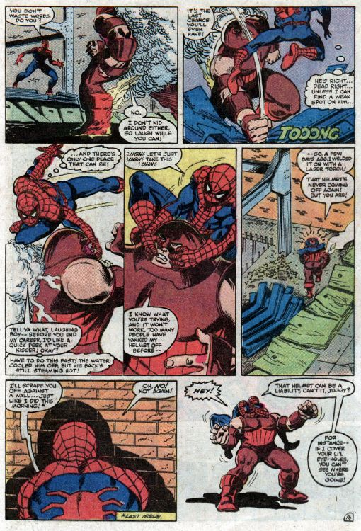 spiderman vs juggernaut 10