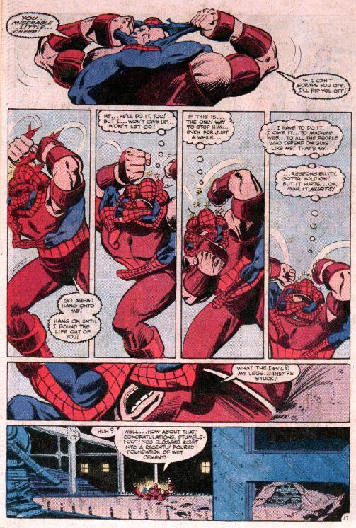 the amazing spiderman vs the juggernaut