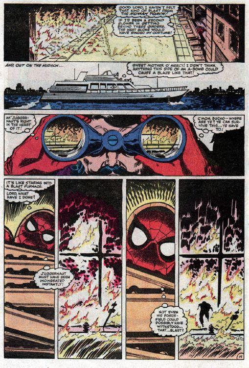 spider-man vs. juggernaut
