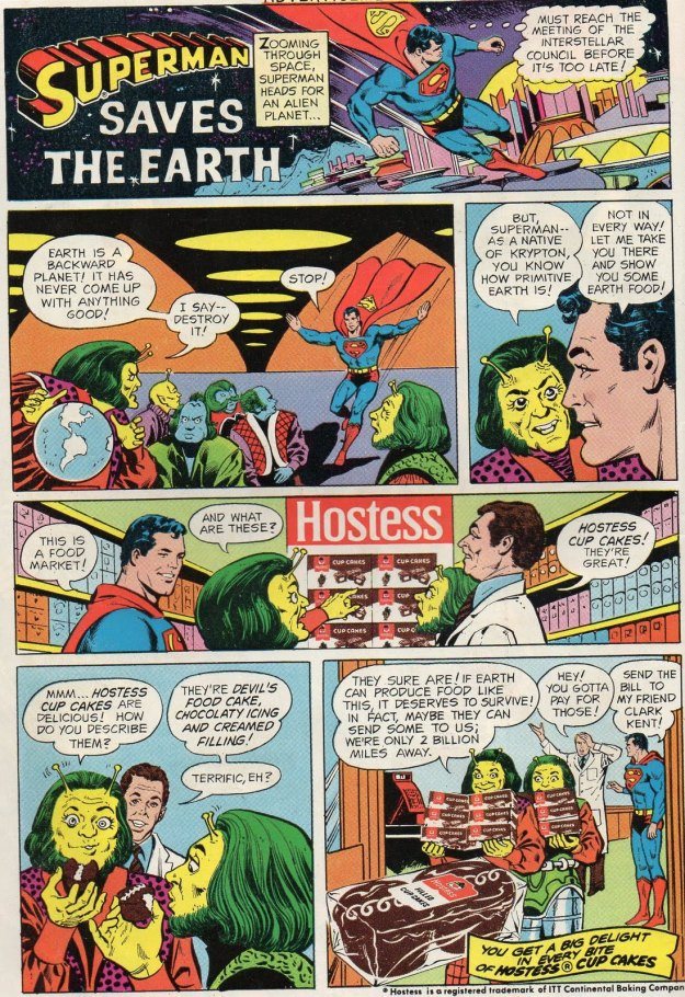 superman hostess