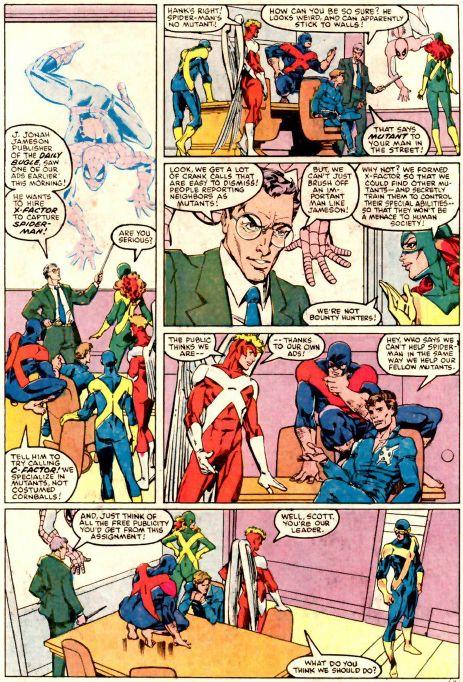 spider-man vs. x-factor