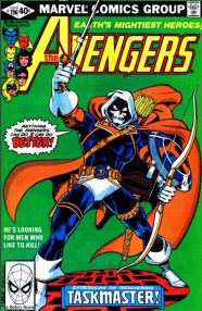 First appearance of Taskmaster