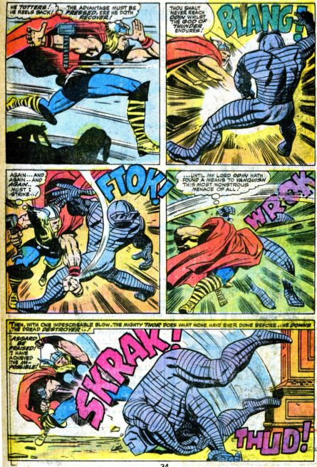 Thor vs. The Destroyer