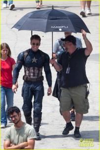 Captain America Civil War set photos crossbones falcon wakanda