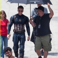 Captain America Civil War set photos crossbones falcon wakanda