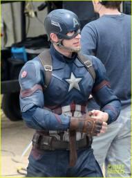 Captain America Civil War set photos crossbones falcon