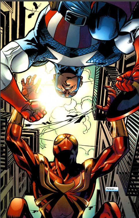 captain america vs. spiderman 2