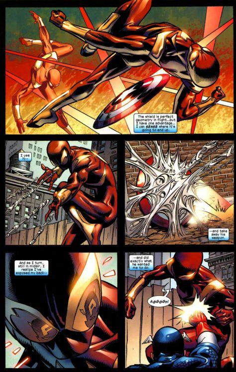 captain america vs. spiderman 5