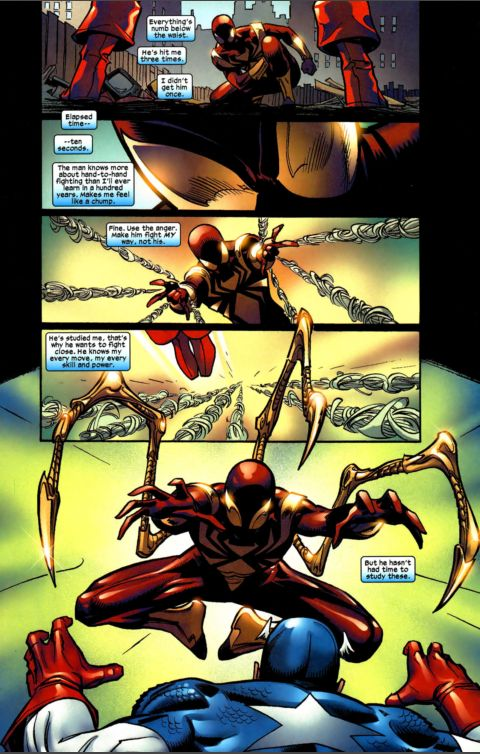 captain america vs. spiderman 6