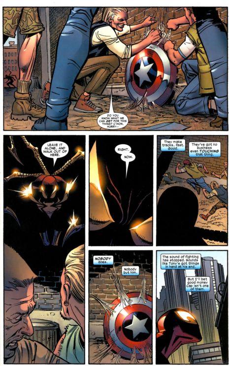 captain america vs. spiderman 9