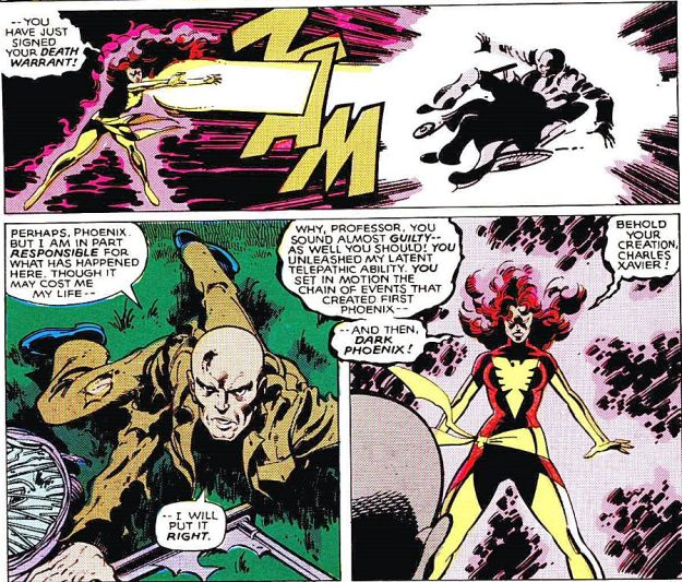 Jean Grey Charles Xavier Dark Phoenix Saga Uncanny X-Men apocalypse