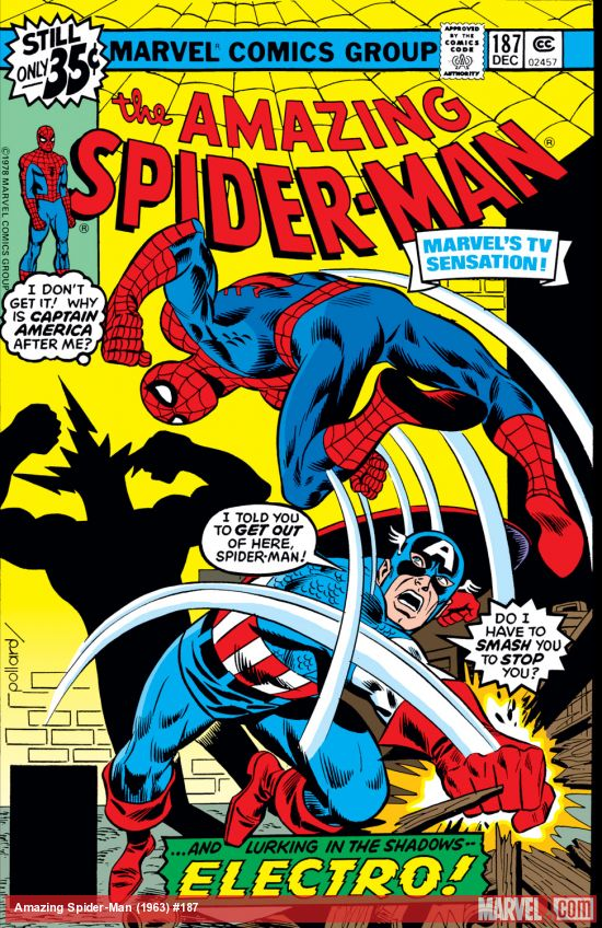 The Amazing Spider-Man vs. Captain America