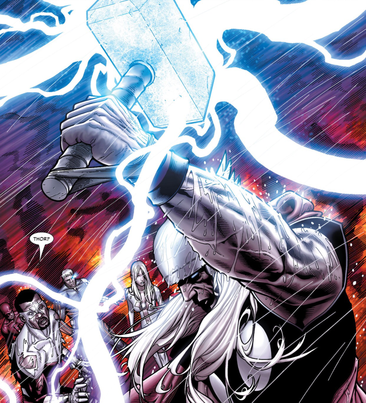 Image result for clone of thor in civil war