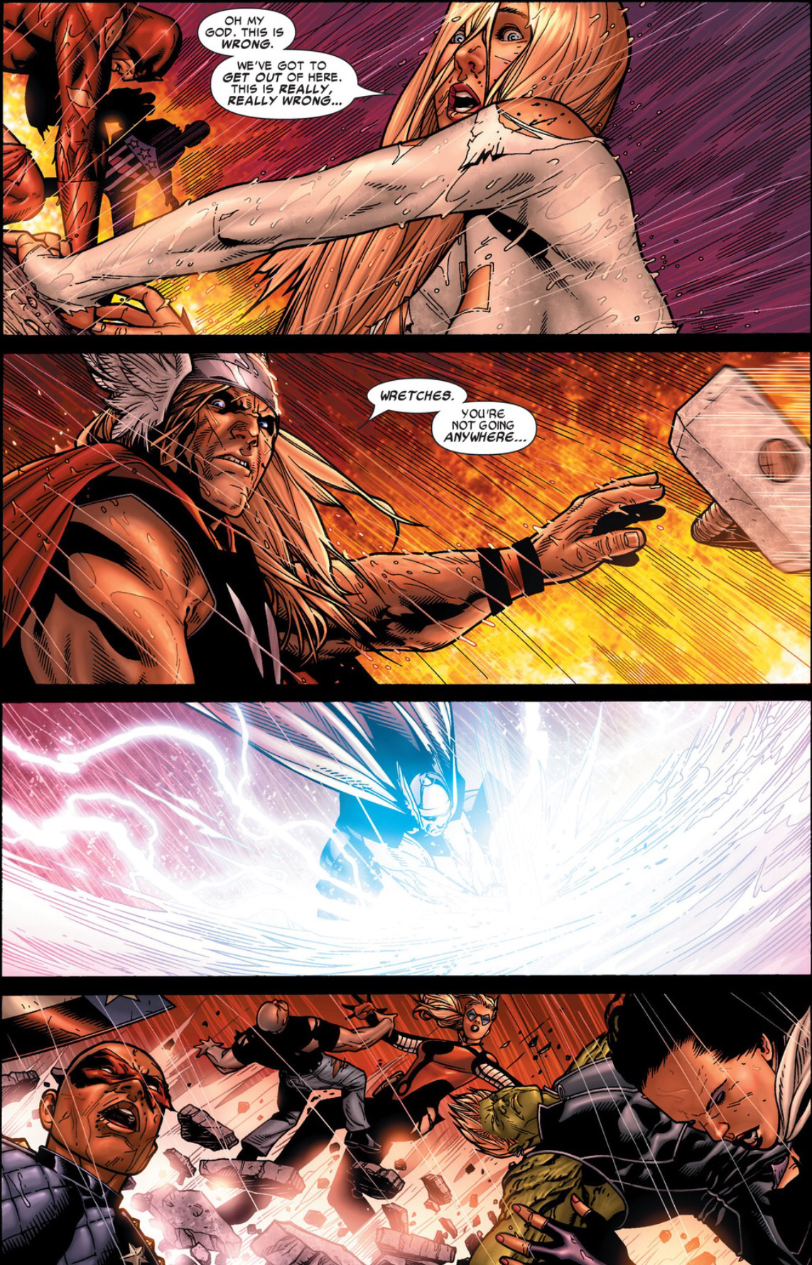 Clone Thor Kills Bill Foster Civil War