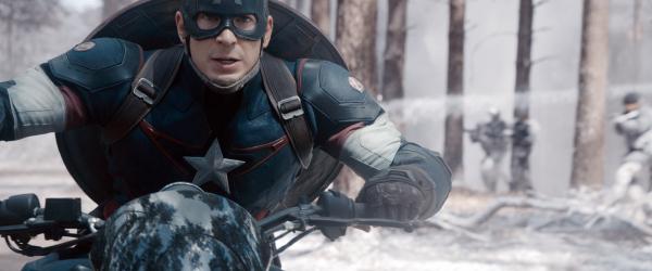 """Chris Evans as Steve Rogers/Captain America in """"Avengers: Age of Ultron."""" (Marvel)"""