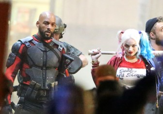Margot Robbie as Harley Quinn Will Smith Deadshot