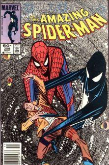 spider-man black suit