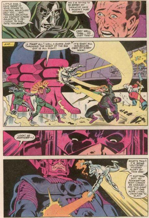 Ultron vs. Galactus: Secret Wars (1984) | lowbrowcomics