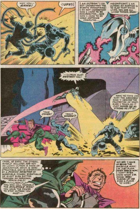 Ultron vs Galactus